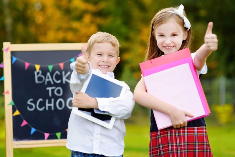 Get your kids ready for back to school, Grande Prairie Dentist